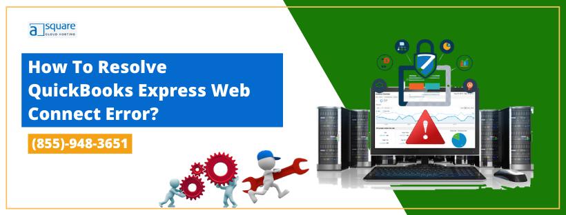 QuickBooks Express Web Connect Error