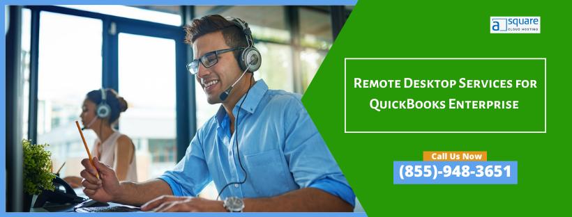 Remote Desktop Services for QuickBooks Enterprise