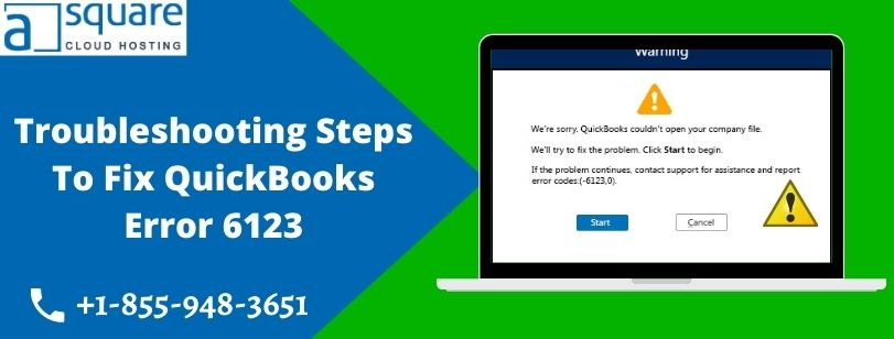 How To Resolve QuickBooks Error 6123   Can't Open Company File