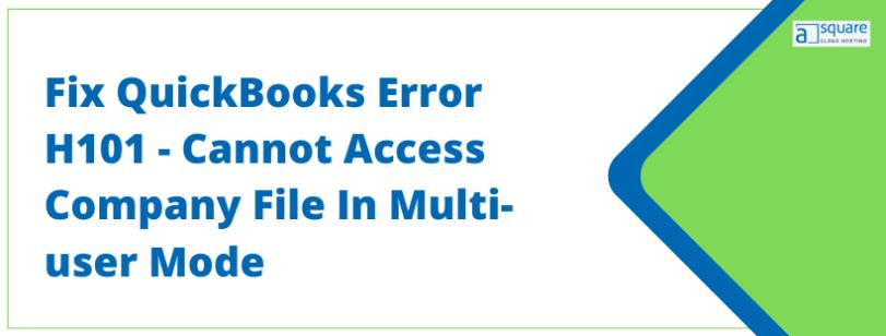QuickBooks Error H101