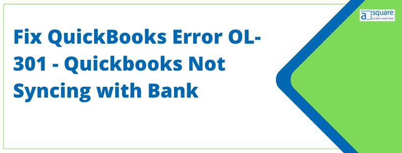 QuickBooks Error OL-301