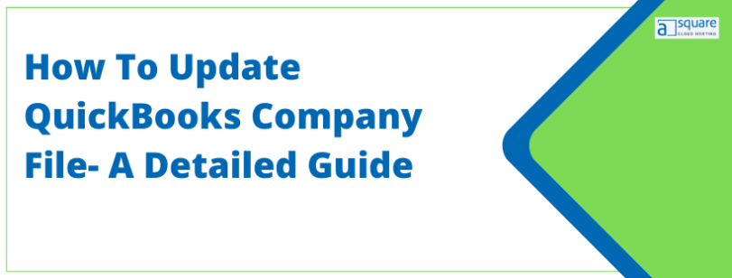 Update QuickBooks Company File