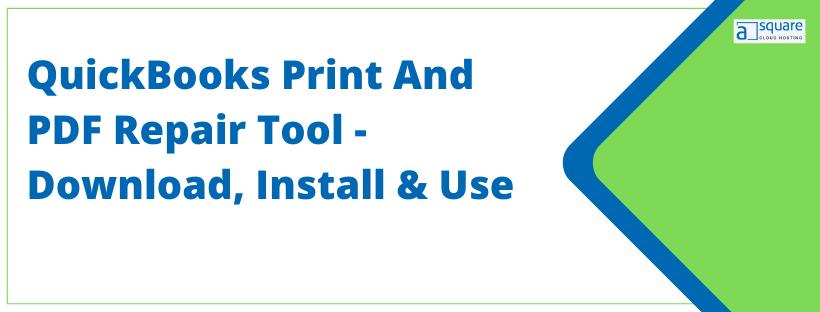 QuickBooks Print & Pdf Repair Tool