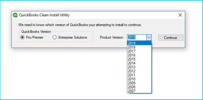 QuickBooks Clean Install Utility Tool