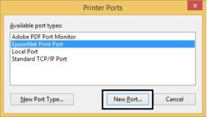 Create a New Port