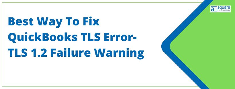 QuickBooks TLS Error