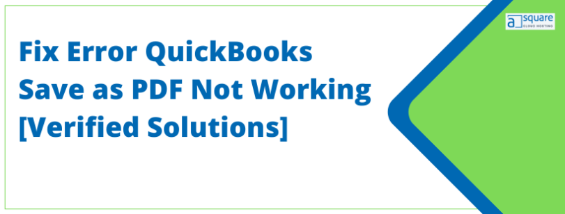 QuickBooks could not save your form as a PDF file