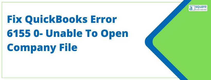 QuickBooks Error 6155 0
