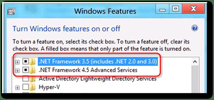 repair .NET Framework