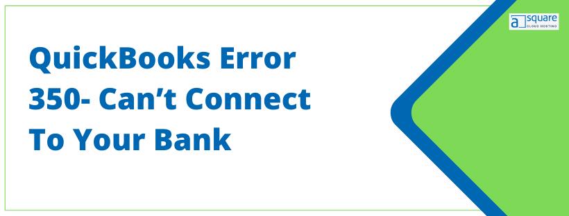 QuickBooks Error 350