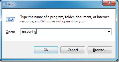 Open  Run Windows