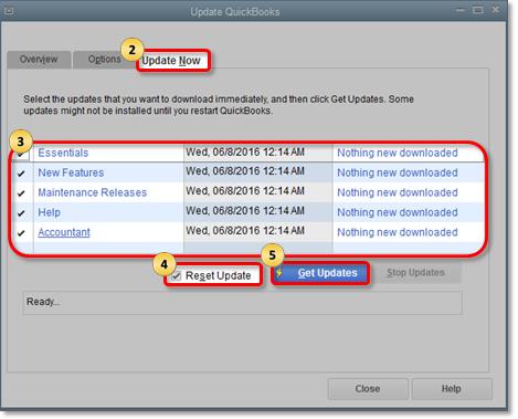 Update QuickBooks Desktop to its latest release