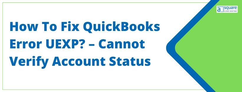 QuickBooks Error UEXP