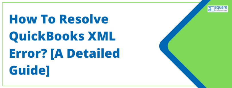 QuickBooks xml error