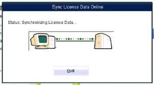 QB Sync License Data Online